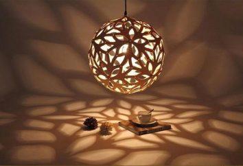 Lampes pour abat-jour – une façon élégante pour décorer