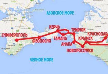"""Pipeline in Crimea. """"Regione di Krasnodar – Crimea"""" – il gasdotto principale con lunghezza di 400 km"""