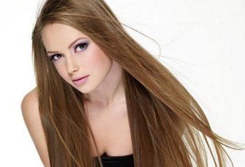 Nós selecionamos o penteado na moda para um cabelo muito longo