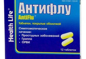 """Tabletki, proszek """"Antiflu"""": instrukcję obsługi, analogi i opinie"""