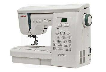 "Machine à coudre ""Dzhanome 2325"": avis"