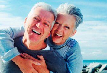 Secondo le statistiche, le persone hanno maggiori probabilità di essere felice con il 65 a 79 anni