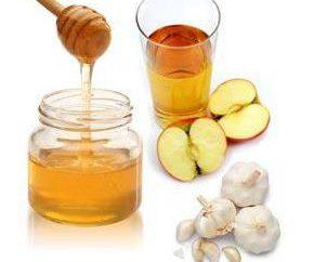 La miel, el ajo y el vinagre de sidra de manzana – una tintura de la salud mágica!
