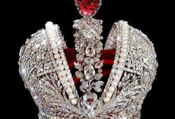 Korona biżuteria rzemiosła – słynny korony Imperium Rosyjskiego