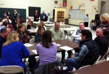 reunión de padres de organización en el séptimo grado. Cómo sostener una reunión en el 7º grado