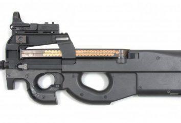 Mitraillette FN P90: description, caractéristiques