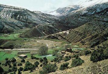 Atlas Mountains – paese montuoso separata