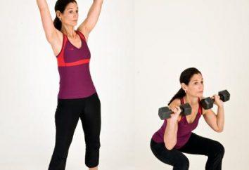 Spezielle Übungen und Trainingsgerät für die Beine