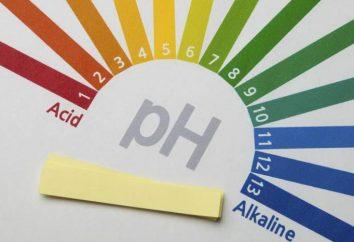 Alimentos ácidos y alcalinos: Lista