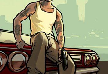 GTA San Andreas: conservazione. GTA San Andreas: segreti, mappe, Cheat Codes