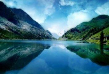 Blue Lake w Kazachstanie – krawędź kulminacyjnym