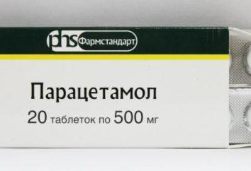 """""""Paracetamol"""" bóle głowy. """"Paracetamol"""" (tabletki): Instrukcja"""