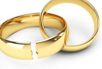 Rozwód w obecności małoletnich dzieci: dokumenty, procedury