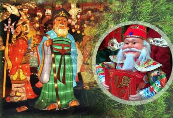W jaki sposób japoński Święty Mikołaj?