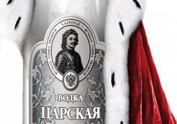 "Vodka famoso ""Ladoga"""