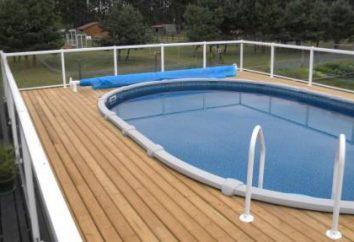 Como fazer uma piscina no país com suas próprias mãos? A solução mais simples para este problema