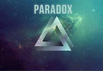 Paradoks – to … Paradoksy fizyki. Teoria paradoksów