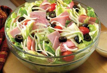 « Chevron »: recette de salade