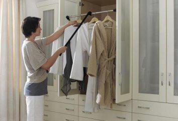 Pantographen für Kleidung. Möbelzubehör
