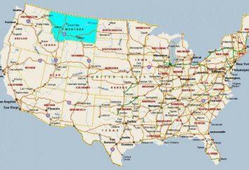 Montana – Estado dos Estados Unidos. Descrição, desenvolvimento, marcos, fotos
