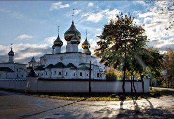 Resurrection Monastery in Uglich: descrizione, curiosità e recensioni