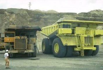 Największa maszyna. Największe ciężarówki. Bardzo duże maszyny