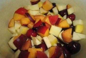 Comment faire cuire une compote de pommes et les cerises?