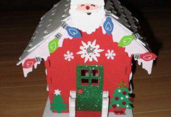 ¿Cómo hacer una hermosa casa de Santa Claus con sus propias manos