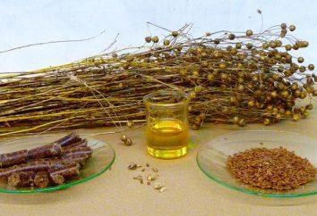 Jak pić olej lniany. Olej z nasion lnu: zastosowanie