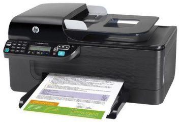 HP OfficeJet 4500: uniwersalne urządzenie wielofunkcyjne dla małego biura lub małej grupy roboczej