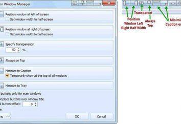 Jak sprawić, by okno nad wszystkimi oknami: proste rozwiązania