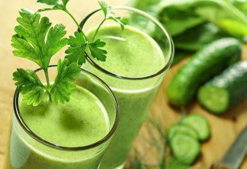 jus de concombre: les avantages et les inconvénients. Tous les secrets et conseils jus de concombre de traitement