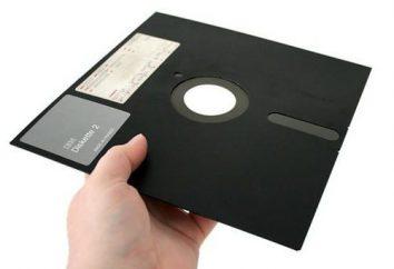 disquette média d'information. Capacité d'information d'une disquette