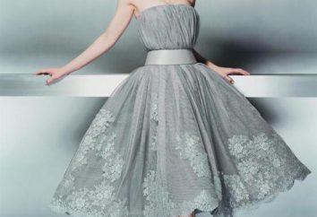 Vestido-Gris: qué ponerse? Los servicios de vestido gris?