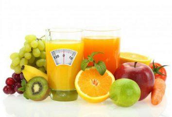 dieta de suco para perda de peso: resultados de comentários