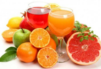 Napoje i soki owocowe: metody przygotowania