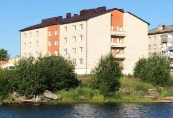 "Hotéis Belomorsk (Karelia), o hotel ""Gandvik"""