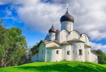 Pskov, auf dem Hügel Tempel. Kirche St. Vasiliya Velikogo auf dem Hügel