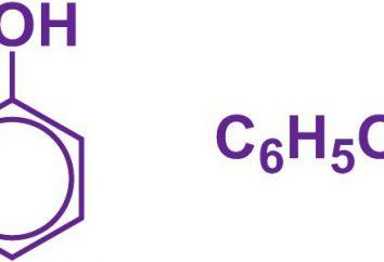 fórmula molecular y estructural de fenol