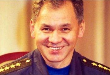 Biografia Sergei Shoigu – a principal salva-vidas Rússia