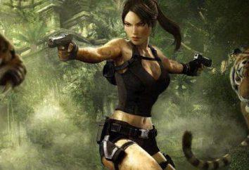 """La actriz y actor, """"Lara Croft: Tomb Raider"""""""