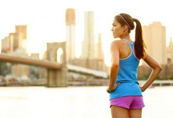 Ejercicio para la pérdida de peso y lyashek abdominal. Aeróbic, fitness, ejercicios en el hogar