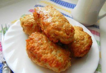 Cotolette nel forno per il pollo: ricetta