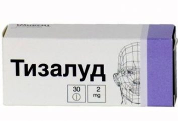 """Krampflösende Arzneimittel """"Tizalud"""": Gebrauchsanweisung"""