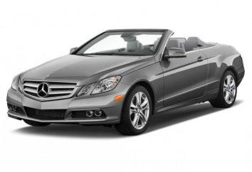 """Il nuovo """"Mercedes"""" -cabriolet Classe E è già in Russia!"""