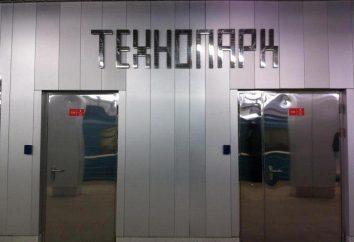 """Der U-Bahn-Station """"Technopark"""""""