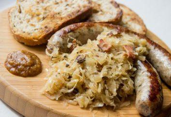 Como preparar salsichas bávaras e que eles servem