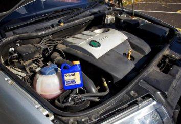 Selante para sistemas de arrefecimento do motor: comentários e recomendações
