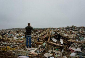 Kulakovskii Deponie: Probleme und Lösungen. Entfernung von festen Siedlungsabfällen