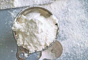 100 grammes de farine – c'est combien? Nous découvrons ensemble
